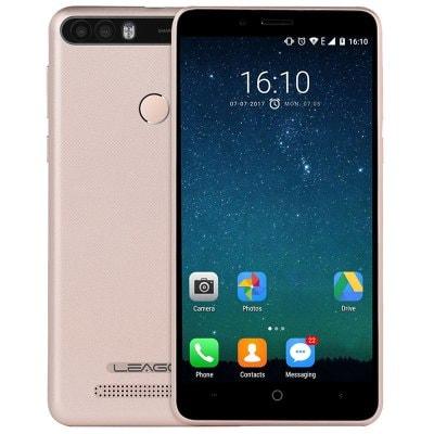 Leagoo KIICAA Power 2GB RAM, 4000mAh, dual kamera, Android 7 + gelové pouzdro ZDARMA! zlatá