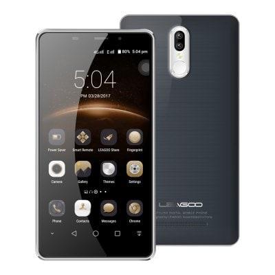 """Leagoo M8 Pro 5,7"""", 2GB RAM, Dual kamera, Gorilla Glass 4, 3500mAh, LTE + sluchtáka a folie zdarma šedá"""