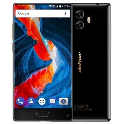 Ulefone Mix 4GB RAM, LTE, dual kamera 13MPx + gelové pouzdro a folie zdarma černá