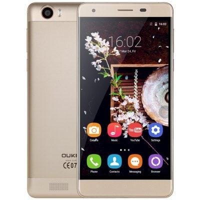 Oukitel K6000 Barva: zlatá 2GB RAM, LTE, 6000mAh