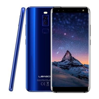 """Leagoo S8 5,7"""" Sharp, 18:9, 8-jádro, 3GB RAM, LTE, Quad kamera + prodloužená záruka 30 měsíců, sluchátka a gelové pouzdro modrá"""