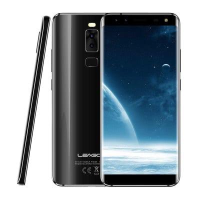 """Leagoo S8 5,7"""" Sharp, 18:9, 8-jádro, 3GB RAM, LTE, Quad kamera + prodloužená záruka 30 měsíců, sluchátka a gelové pouzdro černá"""