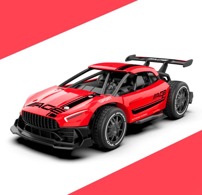 Rc auto na dálkové ovládání Barva: Červené