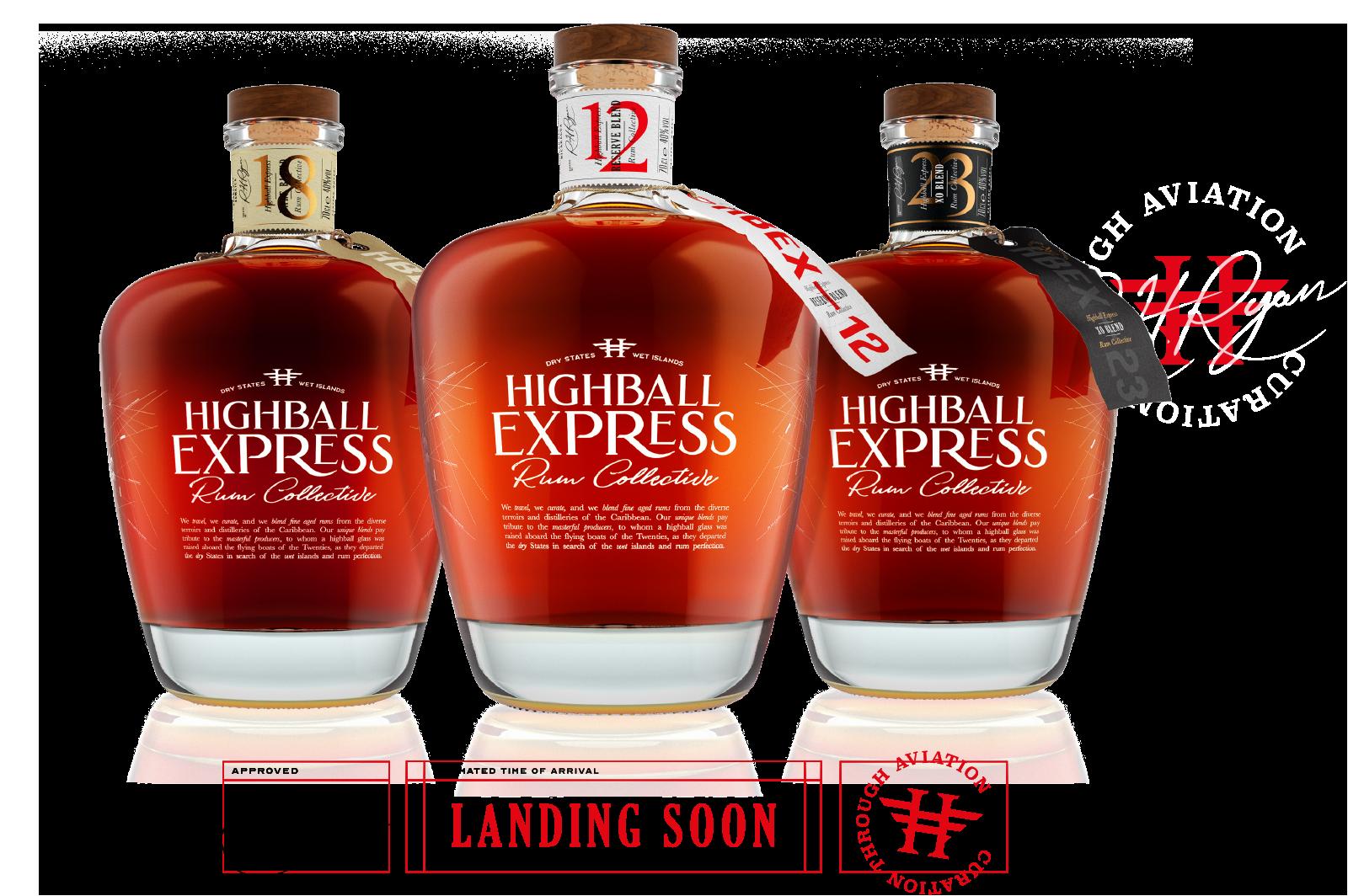 Highball Express - dokonalý blend z Karibiku