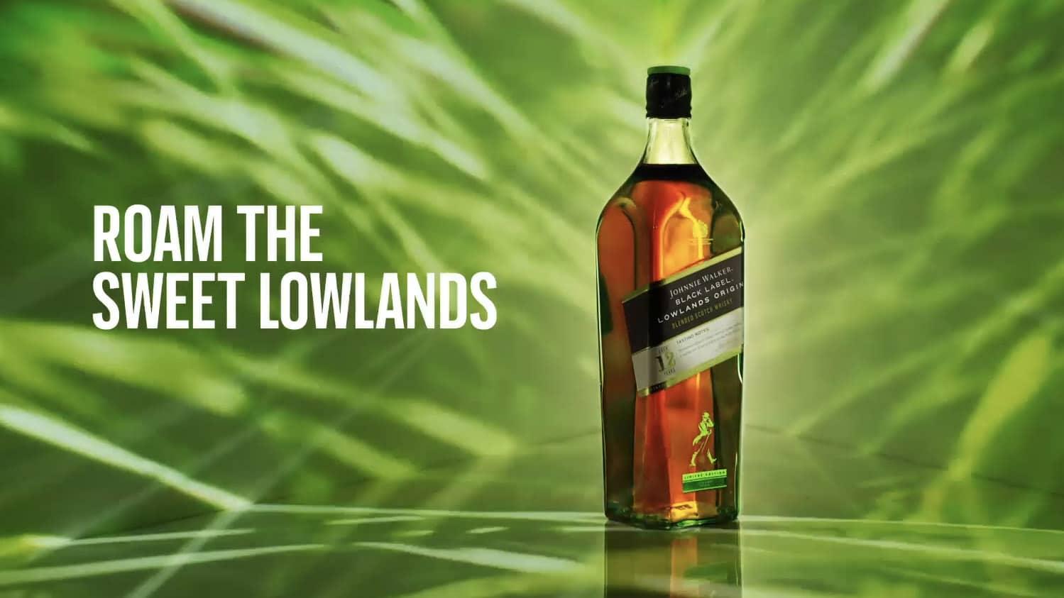 Johhnie Walker Black Lowlands Origin