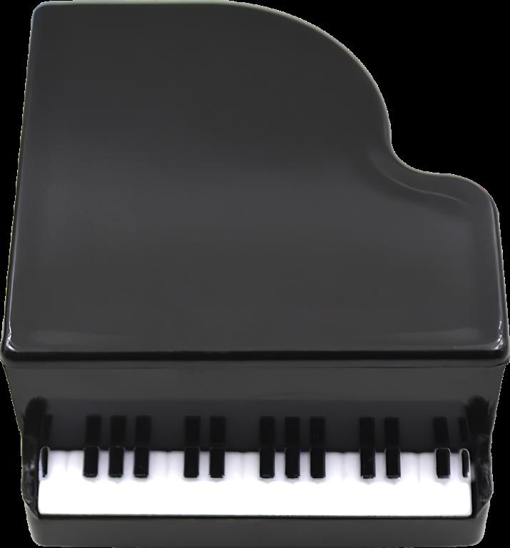 Ořezávátko na tužky - Klavír - Černý