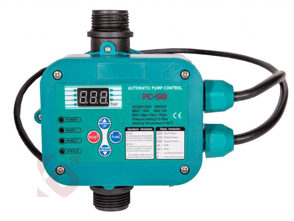 Presscontrol tlaková řídící jednotka PC-58