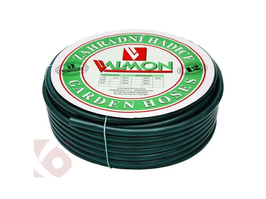 """Zahradní hadice VALMON PVC 1/2"""" 50 m - neprůhledná"""