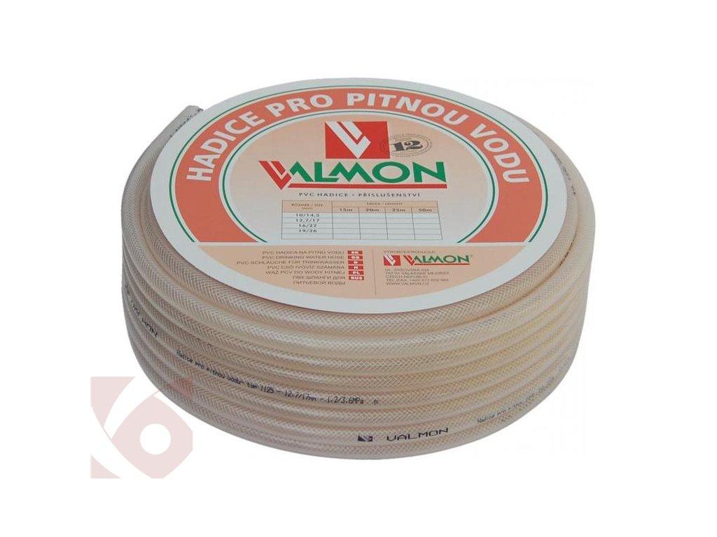 Hadice pro pitnou vodu VALMON 16/22mm 25m
