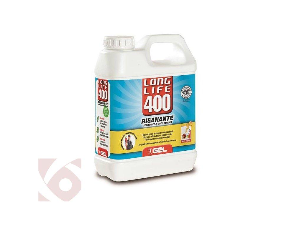 Čištění topných systémů GEL LONG LIFE 400