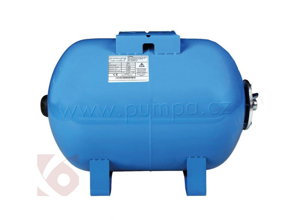 Tlaková nádoba Pumpa SMH 80/10 horizontální s vakem