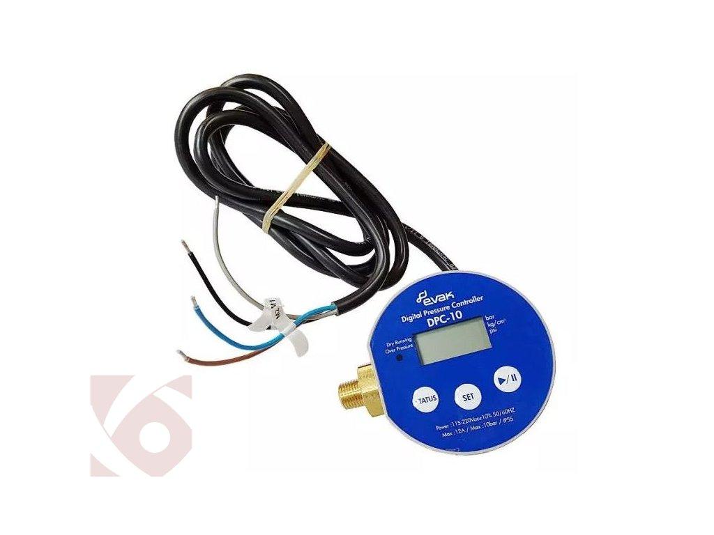 Digitální tlakový spínač DPC 10 1,5 230V