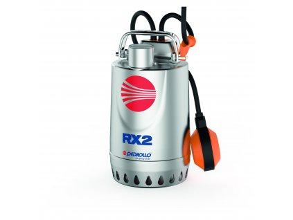 Drenážní čerpadlo PEDROLLO RXm 4/40 vortex 230V 10m s plovákem