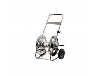 Hadicový vozík CLASSIC nerezový