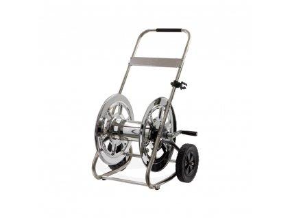 Hadicový vozík COMFORT nerezový
