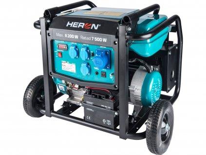 Benzínová elektrocentrála HERON 17HP/8,2kW, elektrický start (8896145)