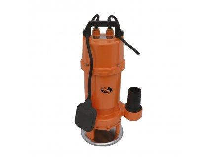 Kalové čerpadlo AQUACUP SHREDD 1100 QG 230 V s plovákem, řezací zařízení