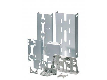 Držák na stěnu pro montáž filtrů - jednoduchý - kov