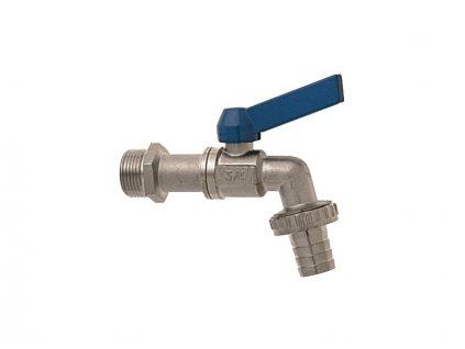 Zahradní kulový ventil - modrý
