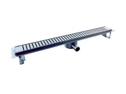 Nerezový podlahový žlab NORIA Classic elipso DN40