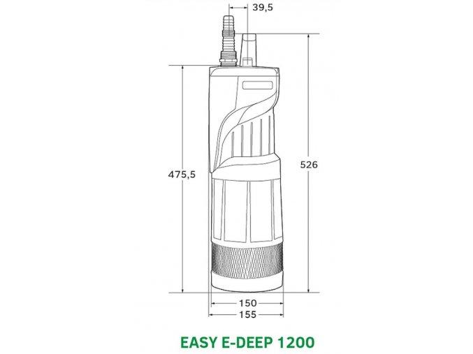 Ponorná automatická vodárna EASY E-DEEP 1200