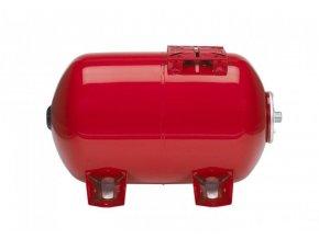 Tlaková nádoba MAXIVAREM LS 200 litrů - horizontální s nerezovou přírubou
