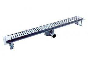 Nerezový podlahový žlab NORIA Classic line DN40