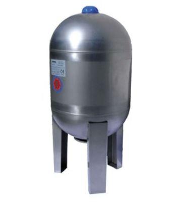Tlaková nádoba s vakem JOVAL 100 VIM nerez s manometrem