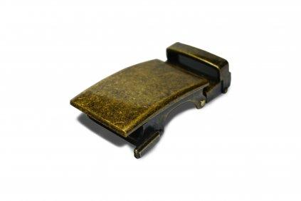automatická spona Dark brass REDFIR