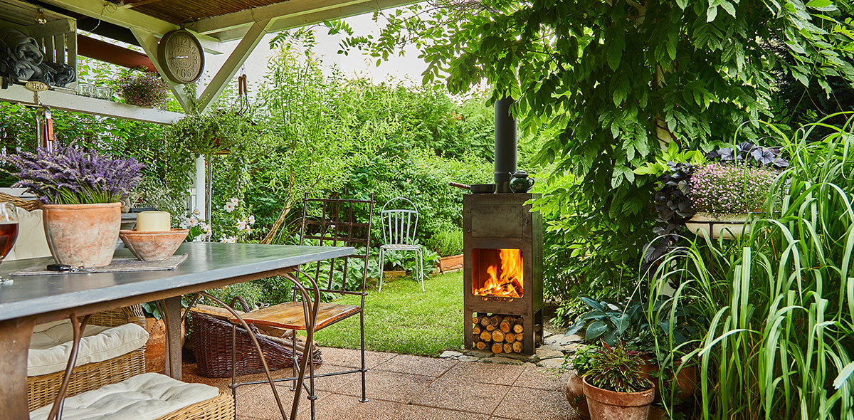 Zahradní kamna REDGARDEN - třeba i skvělá pizza u Vás na zahradě