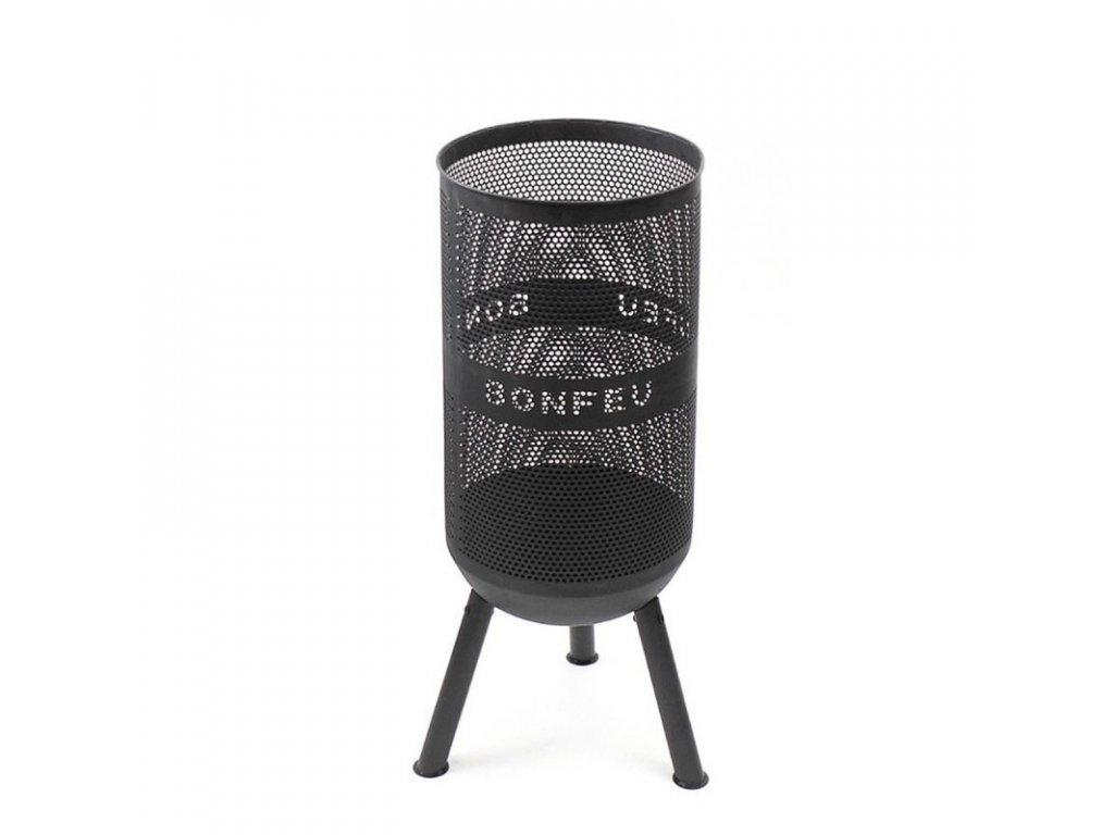 Zahradní ohniště a gril - Bonfeu Bonves 34 Černý