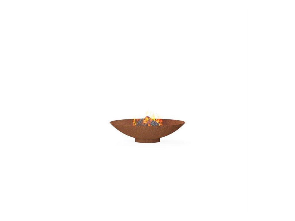 Ohniště BNS2 – 80 cm corten