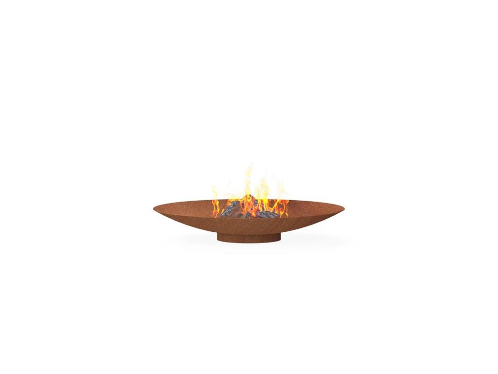 ohniště BNS4 120cm corten