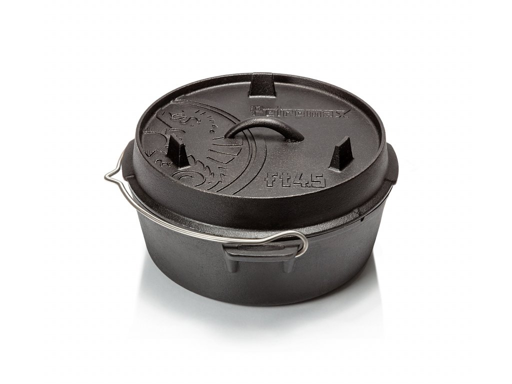 "Litinový kotlík ""Dutch Oven"" ft4.5"
