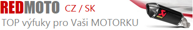 REDMOTO - Laděné výfuky pro MOTOCYKLY