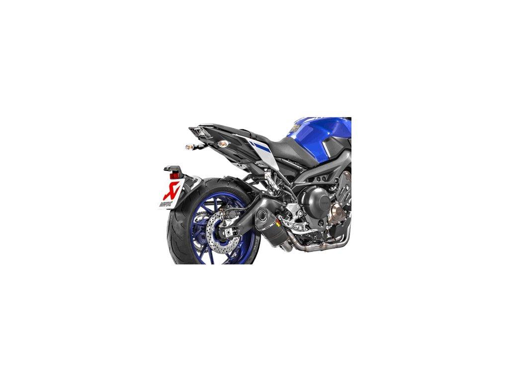 Výfuk Akrapovič KARBON RACING / Yamaha MT-09 (14-20) / XSR 900 (16-20)