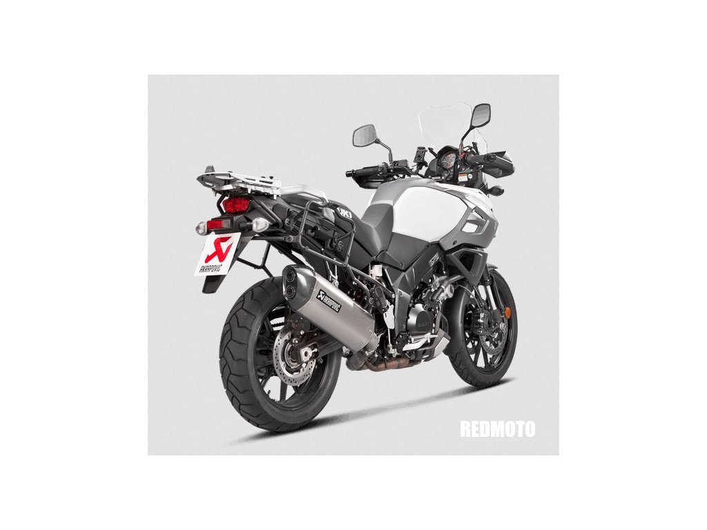 Výfuk Akrapovič TITAN HEXAGON / Suzuki DL 1000 V-STROM (14-19)