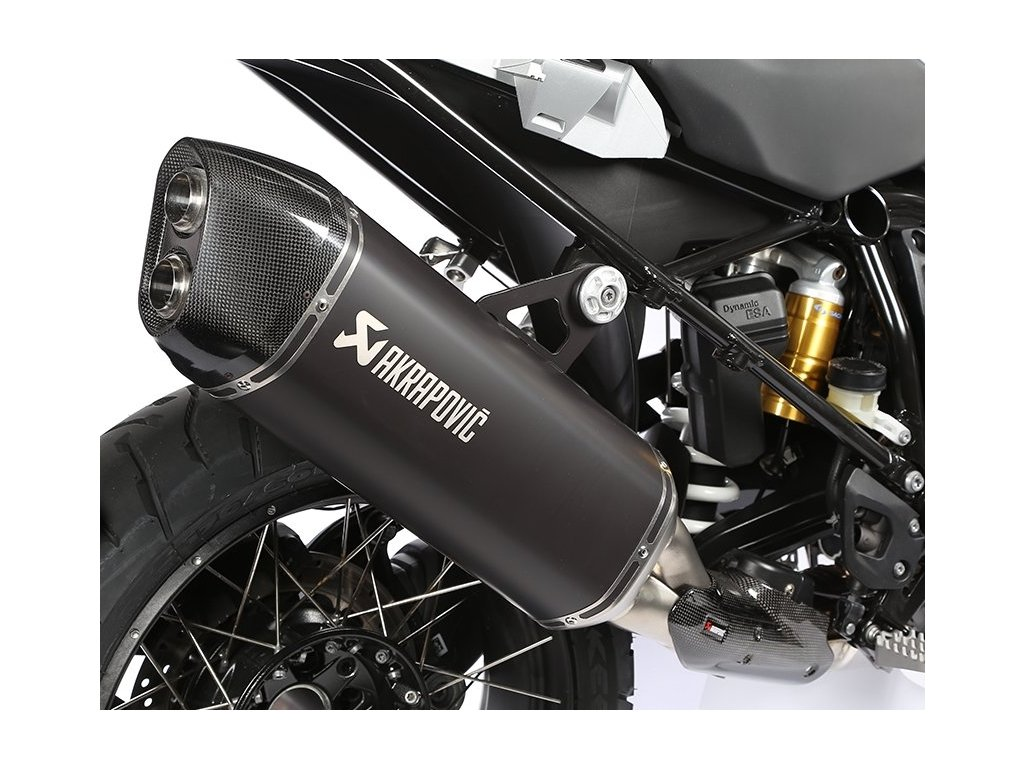 Výfuk Akrapovič TITAN HEXAGON BLACK / S-B12SO10-HAABL / BMW R 1200 GS / Adventure (13-16)