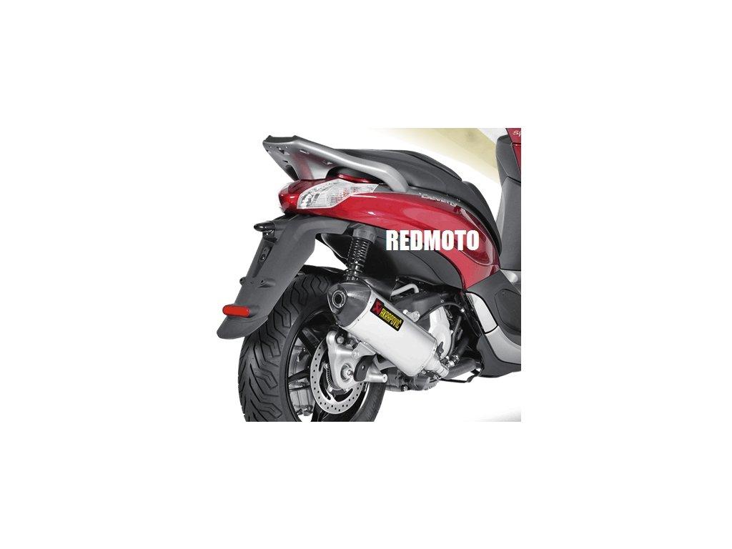 Výfuk Akrapovič HEXAGON / S-PI3SO3-HRSS / Piaggio Beverly 350 Sport Touring (12-16)