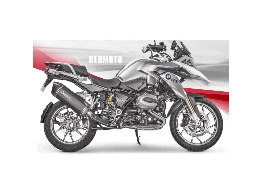 Výfuk Akrapovič TITAN HEXAGON BLACK / S-B12SO16-HAABL / BMW R 1200 GS / Adventure (17-18)