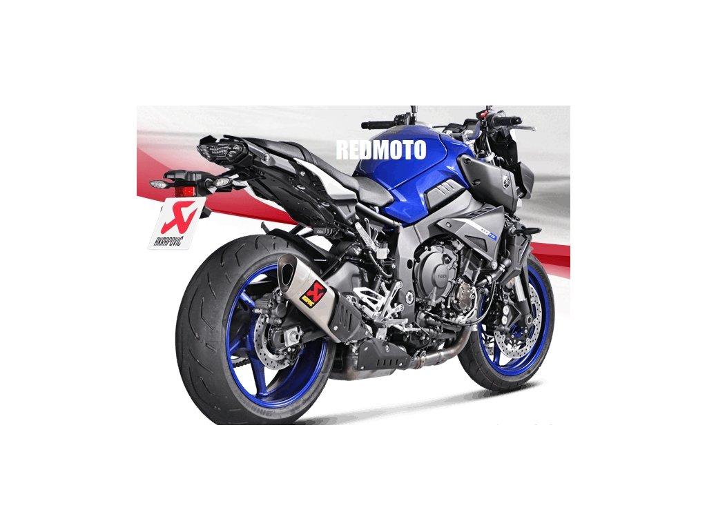 Výfuk Akrapovič TITAN / Yamaha MT-10 / ABS / SP (16-20)