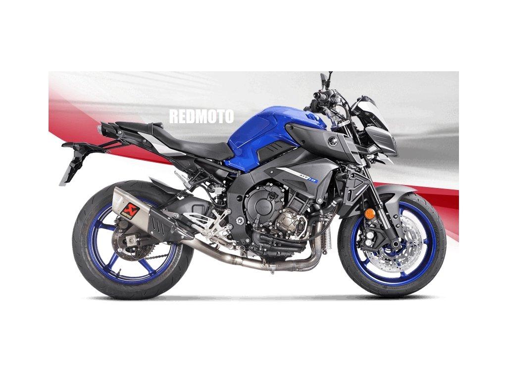 Výfukový svod Akrapovič Racing / Yamaha MT-10 / ABS / SP (16-20)
