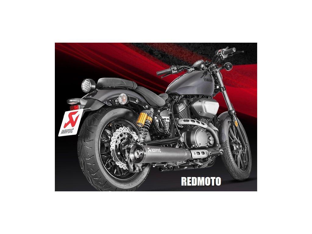 Výfuk Akrapovič CONICAL BLACK / S-Y9SO4-HBBOSSBL / Yamaha XV 950 (17-20) / Yamaha XV 950R (17-20) / Yamaha SCR 950 (17-20)