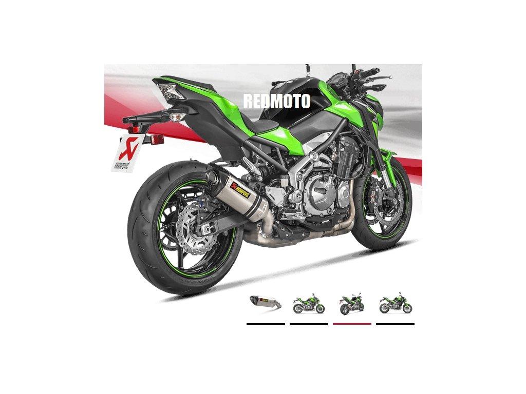 Výfuk Akrapovič TITAN HEXAGON / S-K9SO3-HZT / Kawasaki Z900 (17-19)