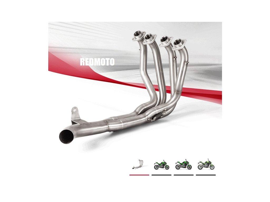 Výfukové svody Akrapovič RACING / E-K9R2 / Kawasaki Z900 (17-19)