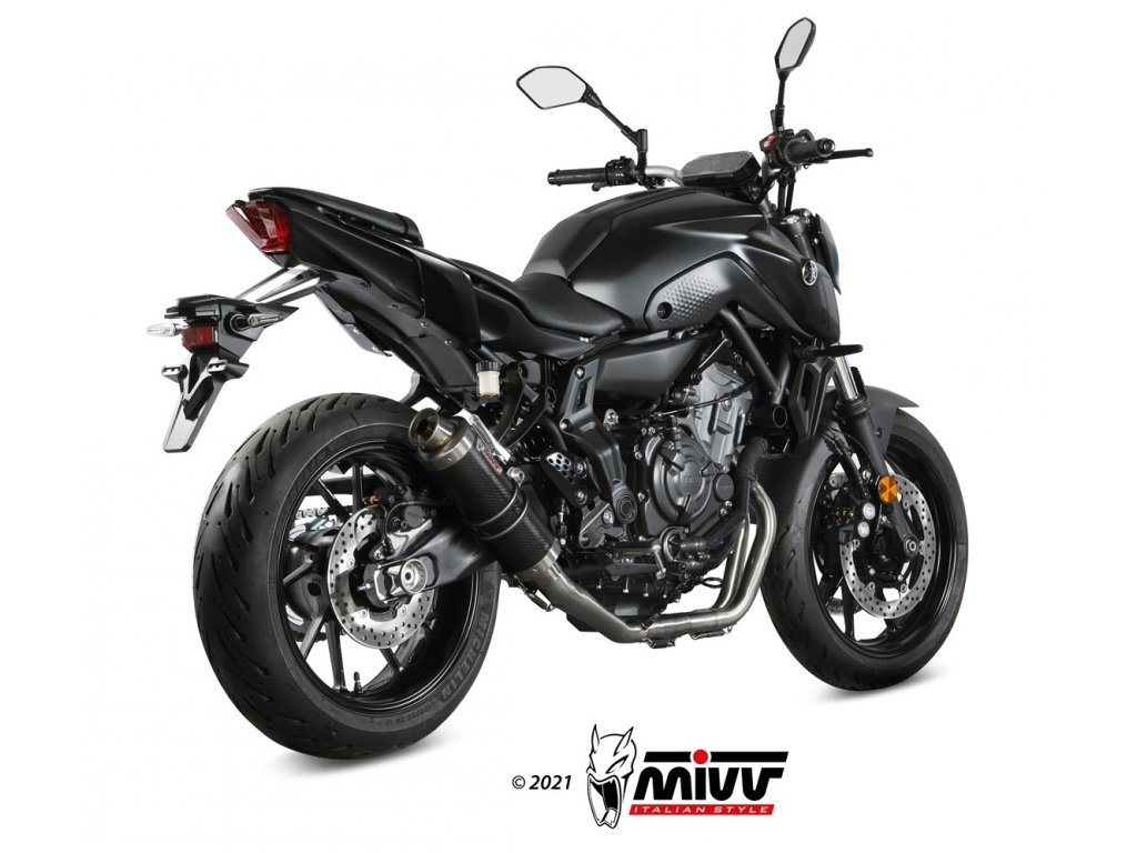 Výfuk MIVV GP KARBON / Yamaha MT-07 (14-21)