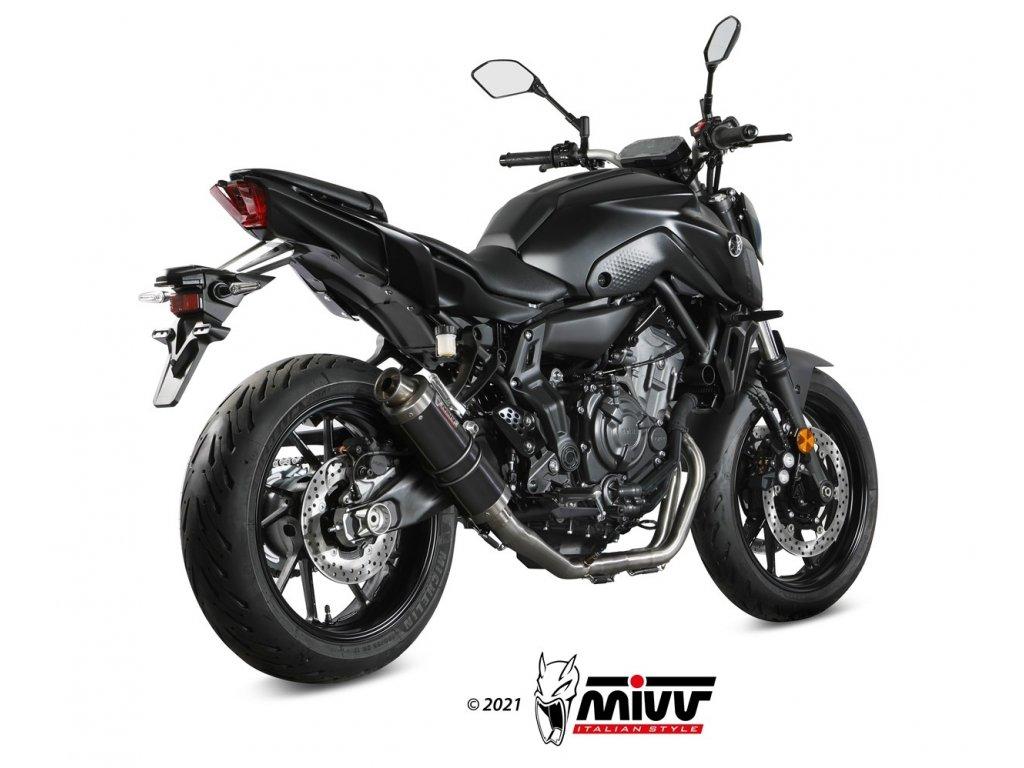 Výfuk MIVV GP BLACK / Yamaha MT-07 (14-21)