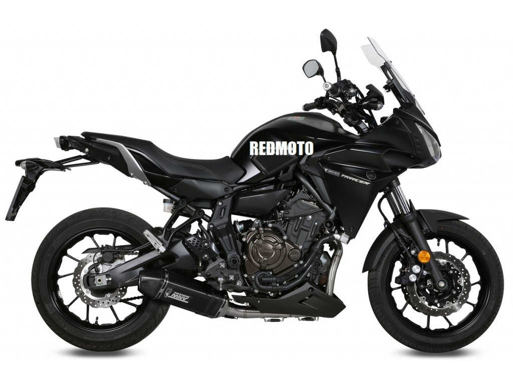 Výfuk MIVV Speed Edge Inox Nero BLACK / Yamaha TRACER 700 (16-19)