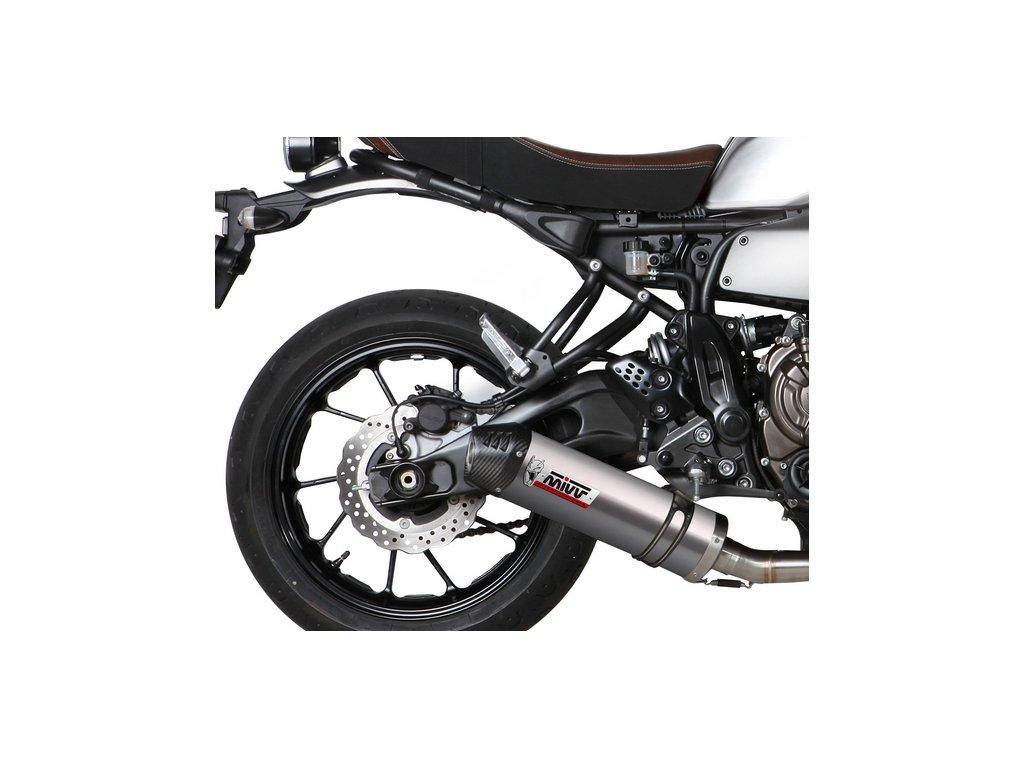 Výfuk MIVV TITAN Ovál / Yamaha XSR 700 (16-20)