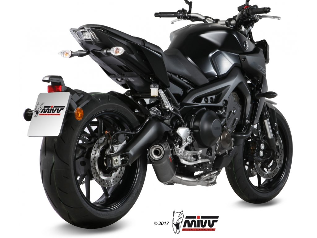 Výfuk MIVV KARBON Ovál / Yamaha MT-09 (14-20)